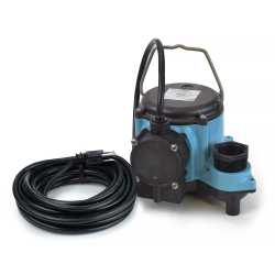 Automatic Sump Pump w/ Diaphragm Switch, 25' cord, 1/3HP, 115V