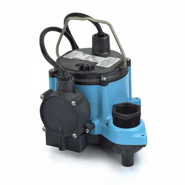 Automatic Sump Pump w/ Diaphragm Switch, 10' cord, 1/3HP, 115V