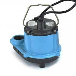 Automatic Sump Pump w/ Diaphragm Switch, 10' cord, 1/3HP, 115V