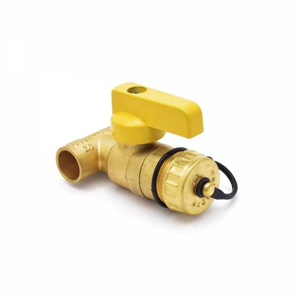 "1/2"" Sweat (C x C) T-Drain Valve (Lead Free)"