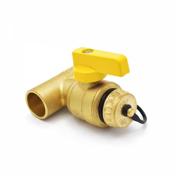 "3/4"" Sweat (C x C) T-Drain Valve (Lead-Free)"