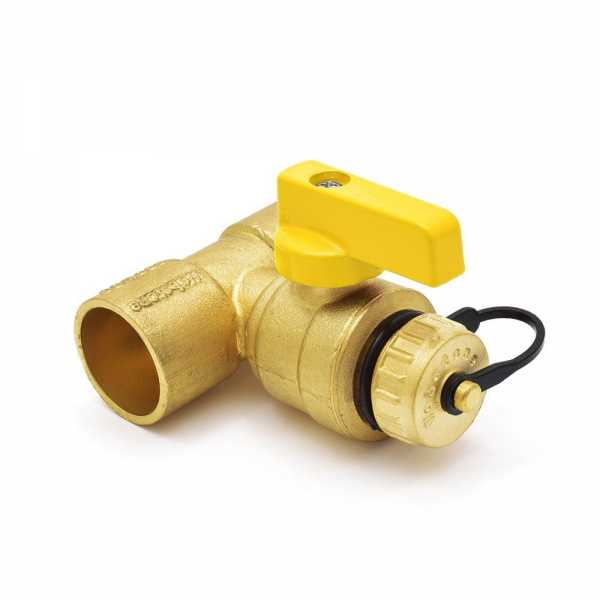 "1"" Sweat (C x C) T-Drain Valve (Lead Free)"