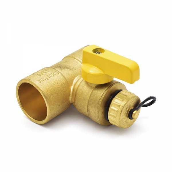 "1-1/4"" Sweat (C x C) T-Drain Valve (Lead-Free)"