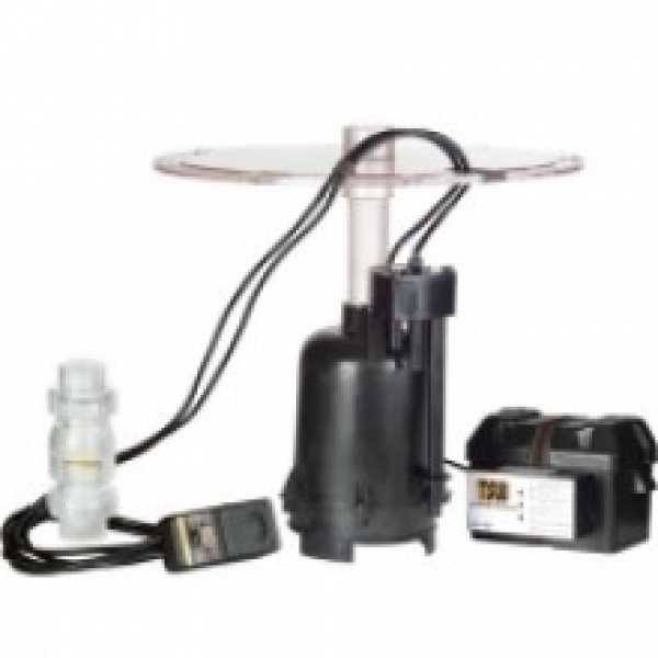 "Little Giant 507716 1/3 Hp Intelliswitch Sump Pump System (for 30"" Basin), 10"" Cord,"