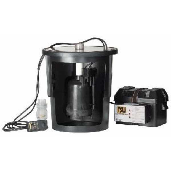 """Little Giant 507717 1/3 Hp Intelliswitch Sump Pump System, 10"""" Cord,"""