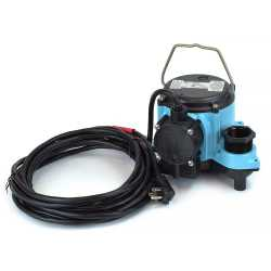 Automatic Sump Pump w/ Diaphragm Switch, 4/10HP, 10' cord, 115V