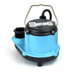 Automatic Sump Pump w/ Diaphragm Switch, 4/10HP, 10' cord, 115V