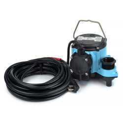 Automatic Sump Pump w/ Diaphragm Switch, 25' cord, 4/10HP, 115V