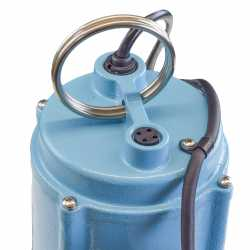 9SС-CIA-RF Automatic Sewage Pump w/ Piggyback Wide Angle Float Switch and 20'' cord, 4/10 HP, 115V