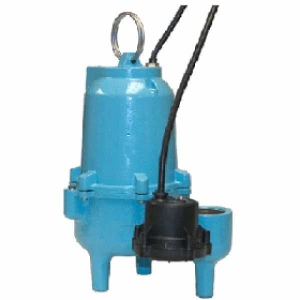 ES40D1-20 Automatic Sewage Pump w/ Vertical Diaphragm Switch and 20' cord, 4/10 HP, 115V
