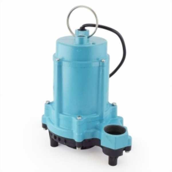 Manual Sump/Effluent Pump, 20' cord, 13HP, 115V
