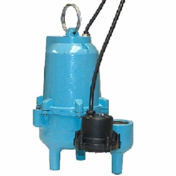 ES50D1-20 Automatic Sump/Effluent/Sewage Pump w/ Piggyback Diaphragm Switch and 20' cord, 1/2 HP, 115V