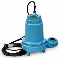 High-Head Manual Effluent Pump, 1/2HP, 20' cord, 115V