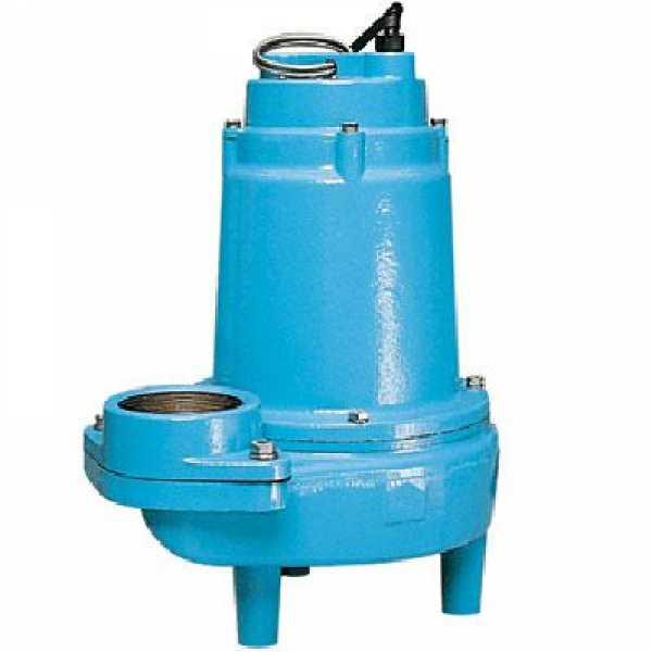 Manual Sewage Pump, 1HP, 20' cord, 200/208V