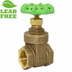"Matco Norca 514T03LF 1/2"" Threaded Gate Valve, Lead Free"