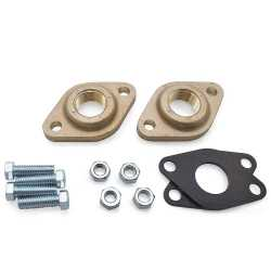 "1"" NPT Bronze Pump Flanges (Pair), GF 15/26"