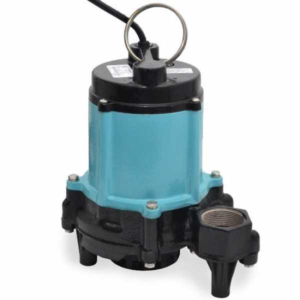 "Little Giant 511311 1/2 Hp Manual Sump Pump, 20"" Cord, 110v ~ 120v"