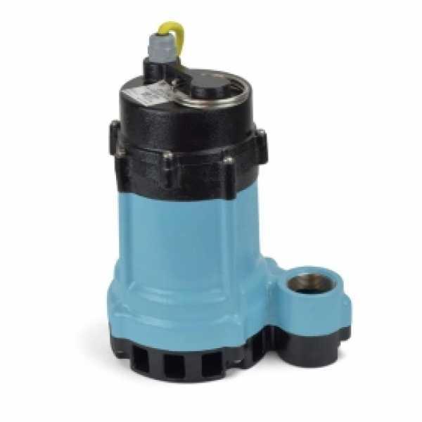 Manual High Temperature Sump/Effluent Pump w/ 15' cord, 1/2HP, 115V