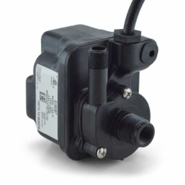 Compact Submersible Pump w/ 10ft cord, 1/125HP, 115V