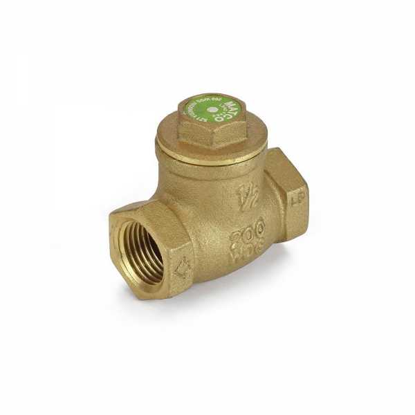 "1/2"" Threaded Swing Check Valve (Lead-Free)"