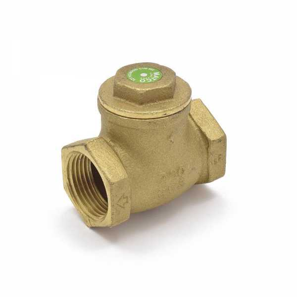 "1"" Threaded Swing Check Valve (Lead-Free)"