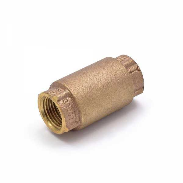 "1/2"" Threaded Spring Check Valve (Lead Free)"