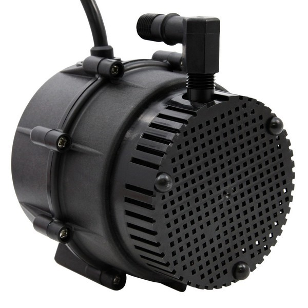 """Little Giant 527016 Oil Filled Manual Small Submersible Swimming Pool Pump, 12"""" (3.7m) Cord, 230"""