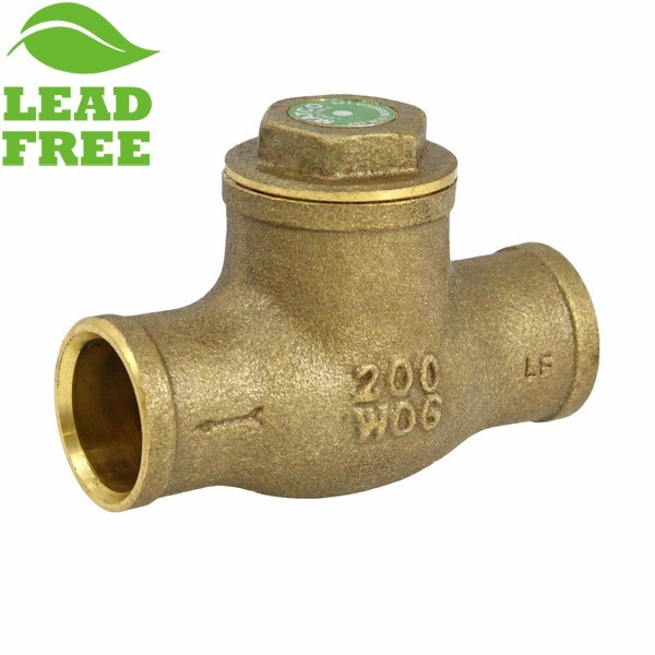 "1/2"" Sweat (CxC) Swing Check Valve (Lead-Free)"