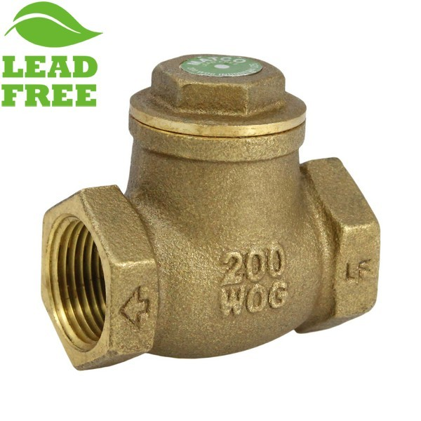 "Matco Norca 521T04LF 3/4"" Threaded Swing Check Valve, Lead Free"