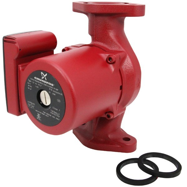 UP43-75F Circulator Pump, 1/6 HP, 115V