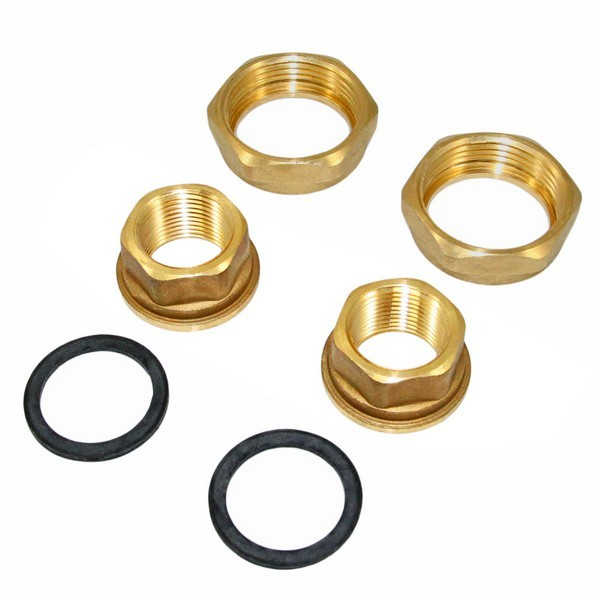 "3/4"" Threaded Bronze Pump Union Set"
