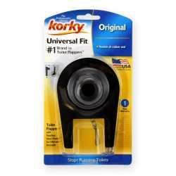 """Korky 2"""" Universal Toilet Flapper, Economy"""