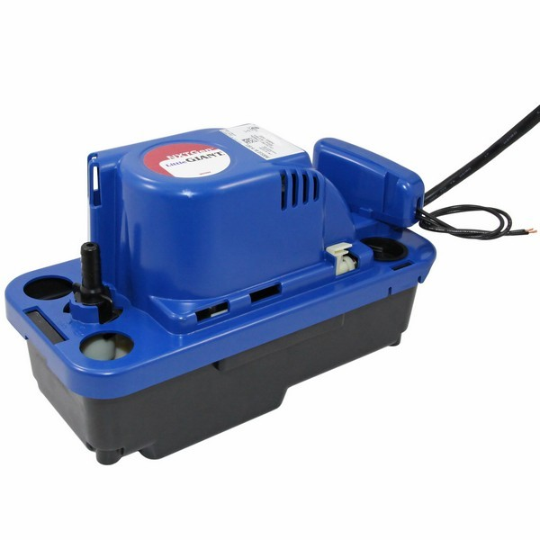 "Little Giant NXTGEN Medium Reservoir Safety Switch Condensate Removal Pump 554531, 19"" Cord, 230"