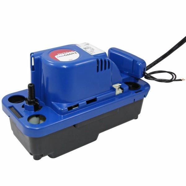 "Little Giant 554542 NXTGEN Medium Reservoir Safety Switch Condensate Removal Pump, 20"" Cord, 110v ~ 120v"