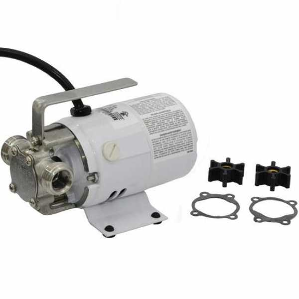 Manual Non-Submersible Utility/Transfer Pump w/ 6' cord, 1/10HP, 115V