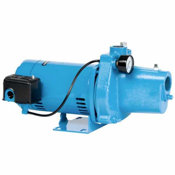 Little Giant 558275 3/4 Hp Shallow Well Jet Pressure Switch Pump, 110v ~ 120v 208v ~ 240v