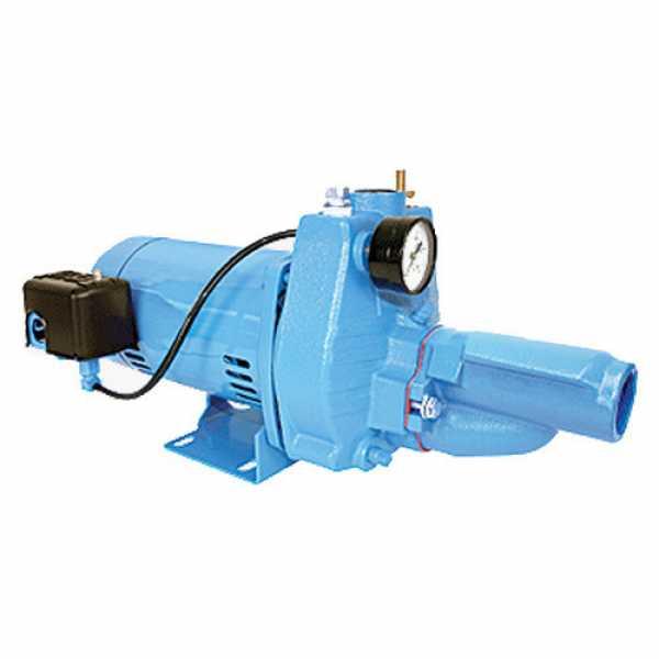 Little Giant 558282 Convertible Jet Pressure Switch Pump, 110v ~ 120v 208v ~ 240v