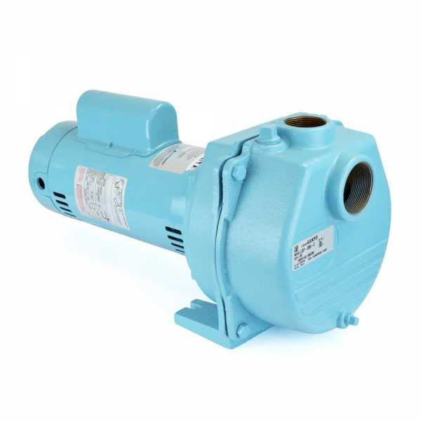 Lawn Sprinkler Pump, 2HP, 230V, Cast Iron