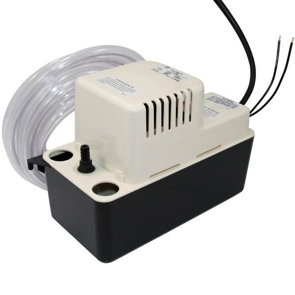 "1/2 Gal Medium Reservoir Safety Switch Condensate Removal Pump 554411, 6"" Cord, 110v ~ 120v"