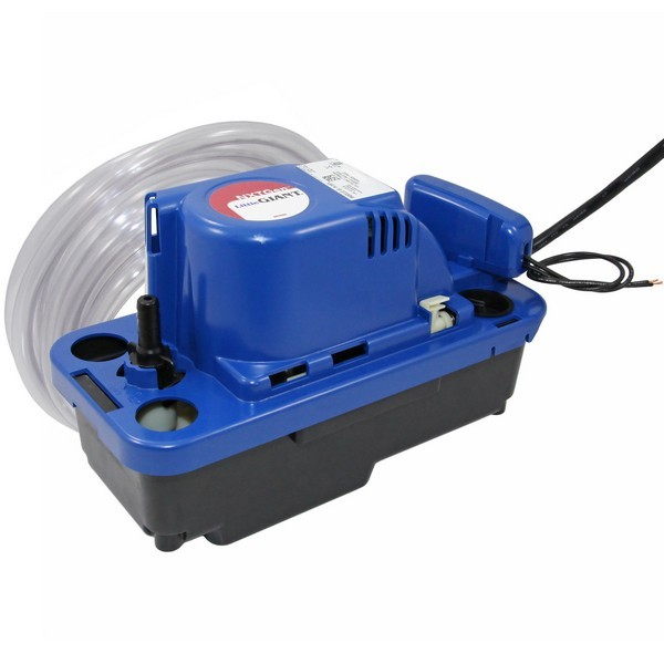 Automatic Condensate Pump w/ Safety Switch, Tubing and 6' cord, 1/30 HP, 115V