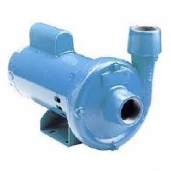 End Suction Centrifugal Pump, 1/2HP, Dual Voltage 115/230V, Cast Iron
