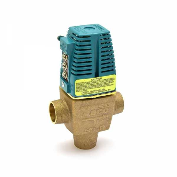 "3/4"" Sweat 3-Way Zone Valve"