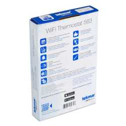 563 WiFi Thermostat, Conventional 2H/2C or Heat Pump 4H/2C