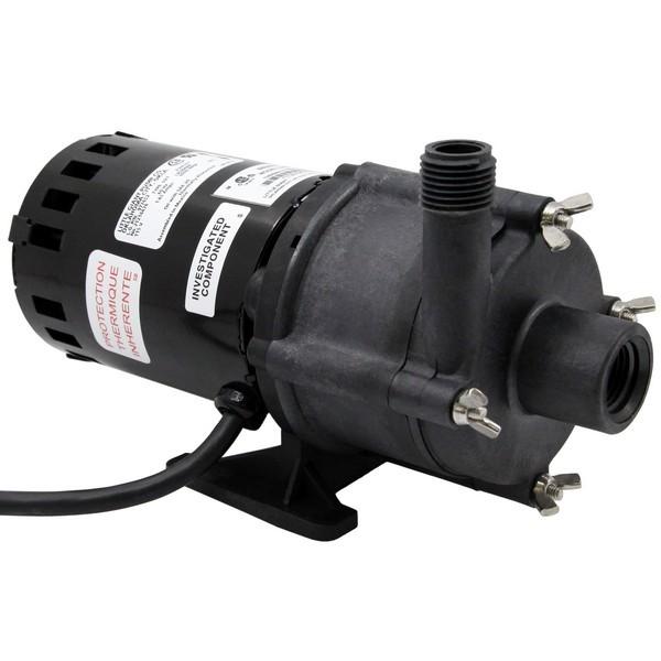 "Little Giant 580603 1/30 Hp Highly Corrosive Handling Manual Magnetic Drive Pump, 6"" Cord, 110v ~ 120v"