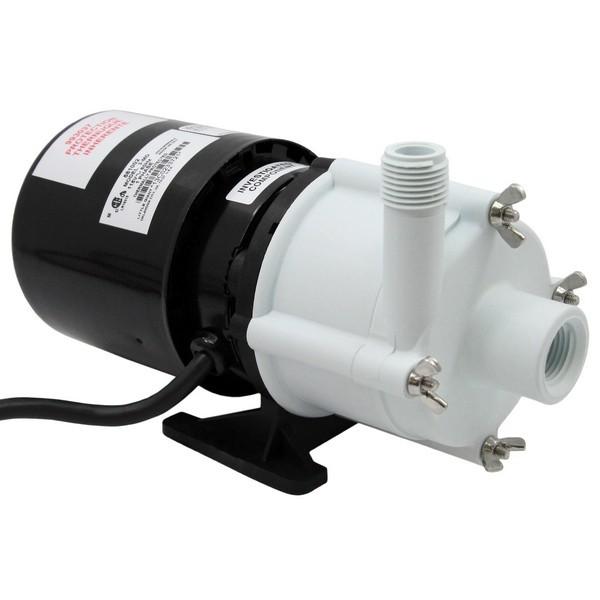 """Little Giant 581002 1/20 Hp Mildly Corrosive Handling Manual Magnetic Drive Pump, 6"""" Cord, 110v ~ 120v"""