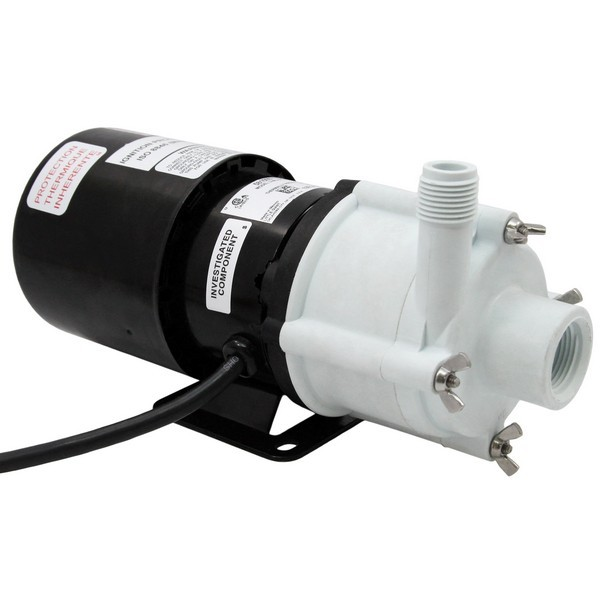 Magnetic Drive Pump for Semi-Corrosive, 1/12HP, 115V