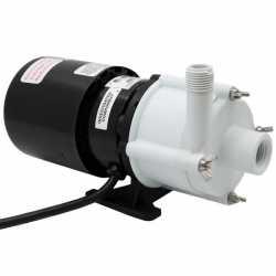 Magnetic Drive Pump for Mildly Corrosive, 1/12HP, 115V