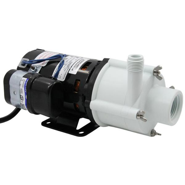 Magnetic Drive Pump for Semi Corrosive, 1/10HP, 115V