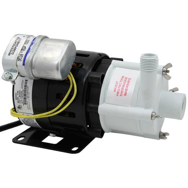 Magnetic Drive Pump for Mildly Corrosive, 1/8HP, 115V