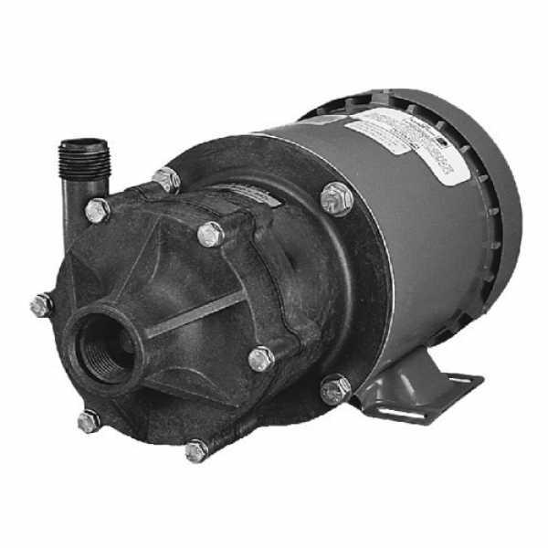 Little Giant 586600 1/2 Hp Highly Corrosive Handling Manual Magnetic Drive Pump, 110v ~ 120v|208v ~ 240v